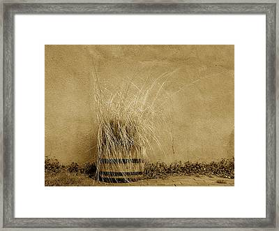 Silver City Still Life Framed Print by FeVa  Fotos