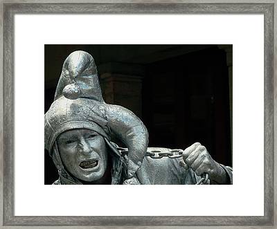 Silver Jester Framed Print by Rdr Creative