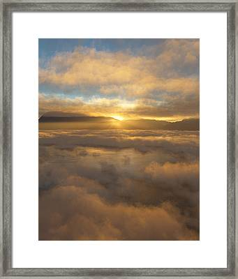 Silver Lake Sunrise Framed Print