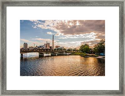 Framed Print featuring the photograph Silver Lake by Tom Gort