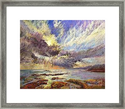 Silver Lining Framed Print by Pamela Pretty