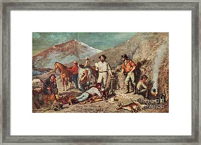 Silver Mining Framed Print by Science Source