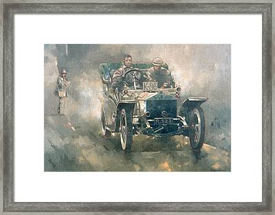 Silver Rogue With Eric Framed Print by Peter Miller