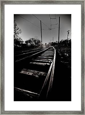 ...silver Steel.. Framed Print by Russell Styles