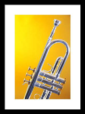 Trumpet Framed Prints