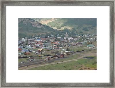 Silverton Colorado Painterly Framed Print by Ernie Echols