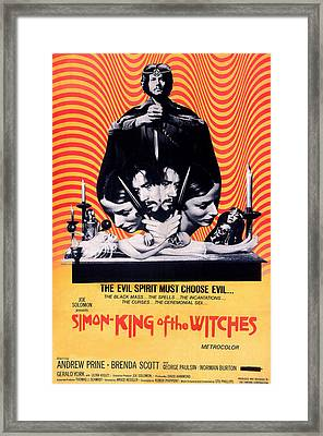 Simon, King Of The Witches, Andrew Framed Print by Everett