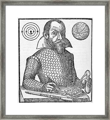 Simon Marius, German Astronomer Framed Print by Middle Temple Library
