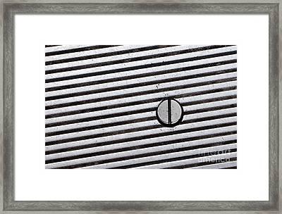 Geometry Framed Print by Dan Holm