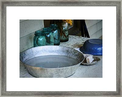 Simple Life 2 Framed Print by Julie Palencia