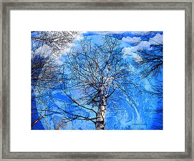 Simple Life Framed Print