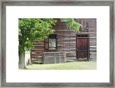 Simple Living Framed Print