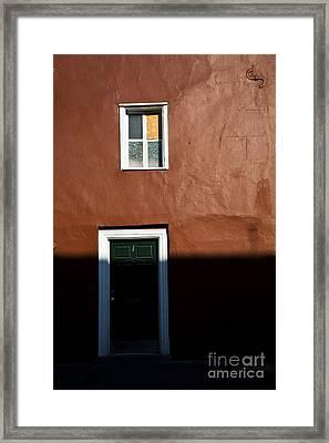 Simple New Orleans Framed Print by Leslie Leda