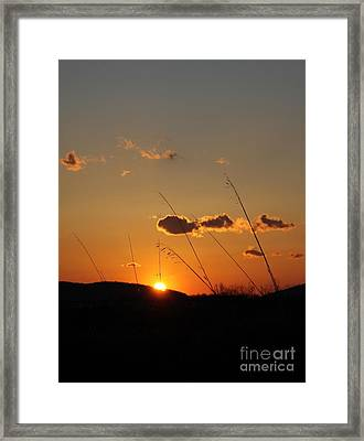 Simple Places Framed Print