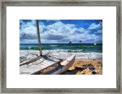 Framed Print featuring the digital art Simple Pleasures II by Rhonda Strickland