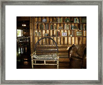 Framed Print featuring the photograph Simple Pleasures by Robin Regan