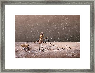 Simple Things - Christmas 03 Framed Print by Nailia Schwarz