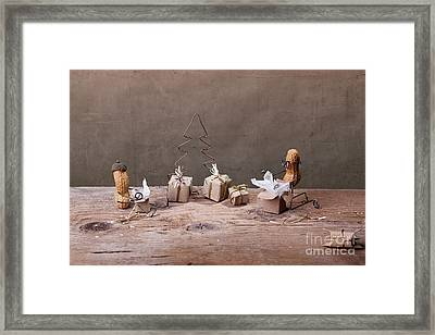 Simple Things - Christmas 05 Framed Print by Nailia Schwarz