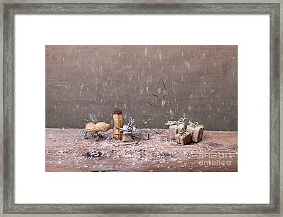 Simple Things - Christmas 07 Framed Print by Nailia Schwarz