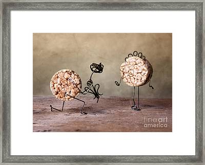 Simple Things 06 Framed Print by Nailia Schwarz