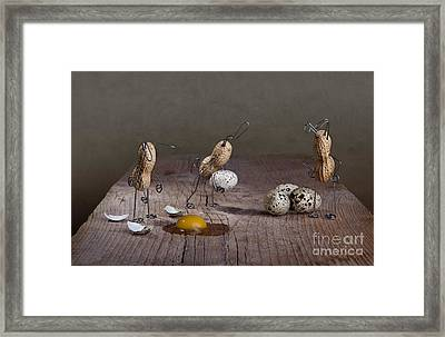 Simple Things Easter 04 Framed Print by Nailia Schwarz
