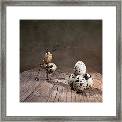 Simple Things Easter 07 Framed Print by Nailia Schwarz