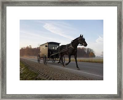 Simple Times Framed Print by John-Paul Fillion