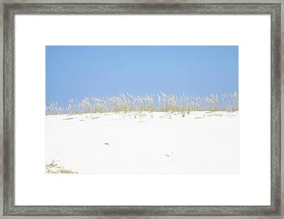 Simplicity Framed Print by Toni Hopper