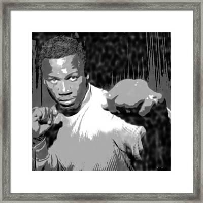 Simply Joe Framed Print by Donna Adams