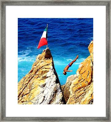 Simply Mexico Framed Print by Karen Wiles
