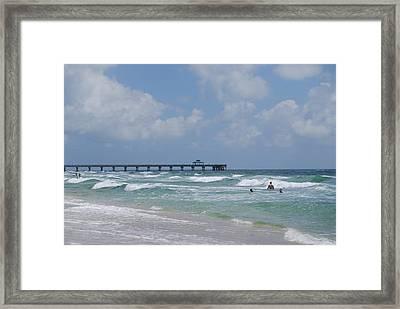Simply Sea Framed Print