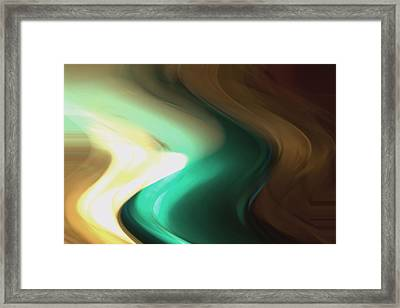 Framed Print featuring the mixed media Sine Of Ninety by Terence Morrissey