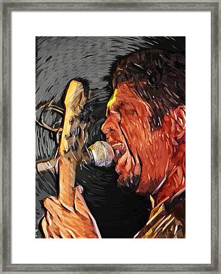Sing It Loud Framed Print by Tilly Williams