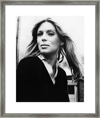Singer, Songwriter, Actress, And Former Framed Print by Everett
