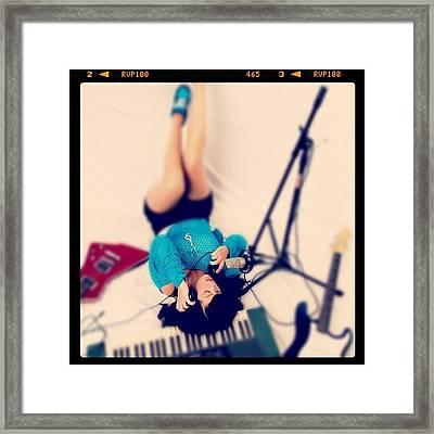 Singer/songwriter Alyssa Catherwood For Framed Print