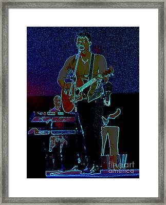 Singing From The Soul Framed Print by Renee Trenholm