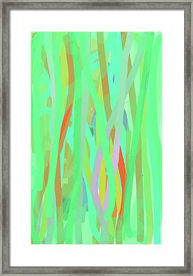 Singing Willows Framed Print