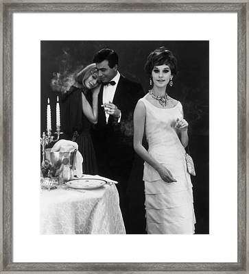 Single Girl Glamour Framed Print by Archive Photos