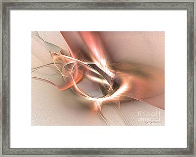 Sinuhe Framed Print by Abstract fine art by Sipo