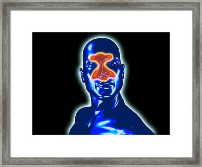 Sinus Pain Framed Print