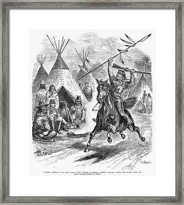 Sioux War, 1876 Framed Print by Granger