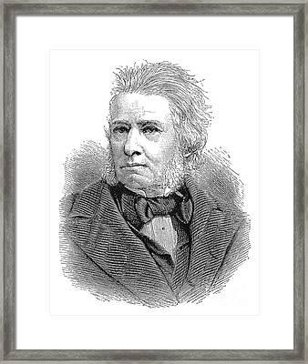 Sir Charles E. Trevelyan Framed Print by Granger