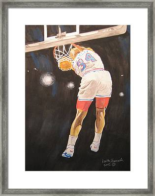 Sir Charles Framed Print by Keith Hancock