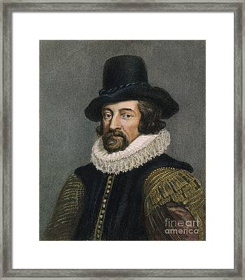 Sir Francis Bacon (1561-1626) Framed Print by Granger