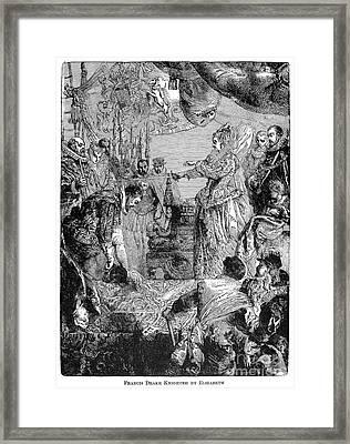 Sir Francis Drake (1540-1596) Framed Print by Granger