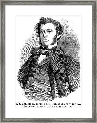 Sir Francis L. Mcclintock Framed Print by Granger