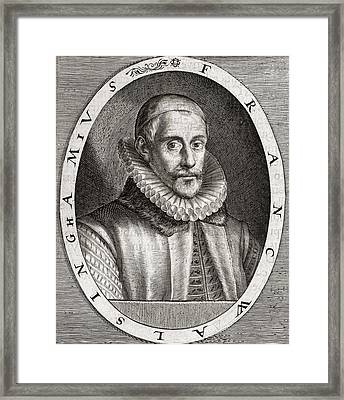 Sir Francis Walsingham, English Statesman Framed Print