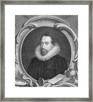 Sir Francis Walsingham Framed Print by Granger