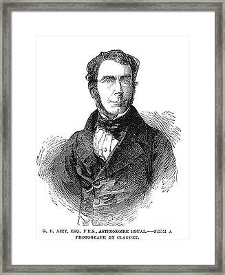 Sir George Biddell Airy Framed Print