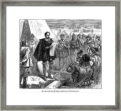 Sir Gilbert Humphrey Framed Print by Granger